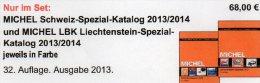 MICHEL Schweiz + Liechtenstein Spezial Briefmarken Katalog 2013 Neu 68€ UNO Genf Internationale Ämter Catalogue Helvetia - Suisse