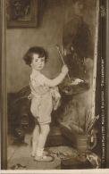 """ENFANTS - LITTLE GIRL - MAEDCHEN  - TABLEAUX - SALON DE PARIS 1918 - """"Collaboration"""" Par M. RONDENAY - Portraits"""