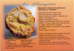 Recette ´´Les Bunyettes Catalanes´´ (1) - Küchenrezepte