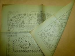 10 Août 1890  PATRON .......sauvegardé D´une Revue Ancienne.......envoi Gratuit France Et Monde Entier - Patterns