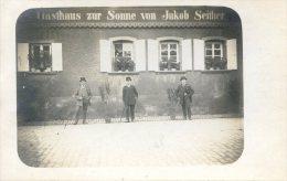 Carte Photo - GASTHAUS ZUR SONNE Von Jakob SEITHER - Allemagne