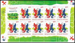 Croatia 2012, Football Championship, Poland And Ukraine, Mi#1039, MNH /** - Croatie