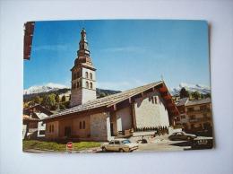 Carte Postale De La Clusaz-La Nouvelle église-1977 - La Clusaz