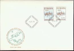 1972 - EUROPA CEPT  FINLANDIA -  FINLAND - FDC - Europa-CEPT