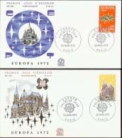1972 - EUROPA CEPT  FRANCIA - FRANCE - FDC - Europa-CEPT