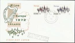 1972 - EUROPA CEPT  IRLANDA - EIRE - FDC - Europa-CEPT
