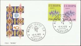 1972 - EUROPA CEPT  ITALIA - ITALY - FDC - Europa-CEPT