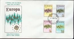 1972 - EUROPA CEPT  MALTA - FDC - Europa-CEPT