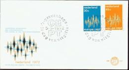 1972 - EUROPA CEPT  OLANDA - NEDERLAND - FDC - Europa-CEPT