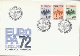 1972 - EUROPA CEPT  PORTOGALLO -  PORTUGAL - FDC - Europa-CEPT