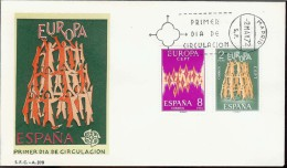1972 - EUROPA CEPT  SPAGNA - ESPANA - FDC - Europa-CEPT