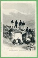 73 CHAMBERY - Un Poste De Chasseurs Alpins Dans Les Alpes - Chambery