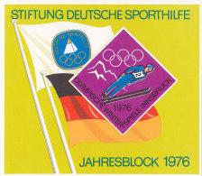Stiftung Deutsche Sporthilfe, Jahresblock 1976, Olympische Winterspiele Innsbruck - Erinnophilie