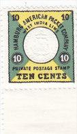 HAPAG Seepostmarke, Neudruck Von 1955 - Erinnofilia