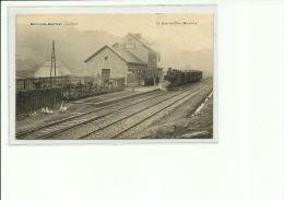 Dorinne Durnal La Gare Train Vers Spontin  Top Carte - Yvoir