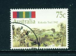 AUSTRALIA - 1992 Kokoda Trail 75c Used As Scan - 1990-99 Elizabeth II