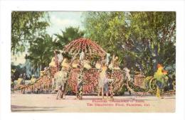 The Chanteclere Float, Pasadena Tournament Of Roses, Pasadena, California, 1900-1910s - United States