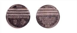 Jeton Distributeur De Boisson Italien Gettone Per App. / Distributori Automatici Commercio Vietato Italia Italy Coin - Professionnels/De Société