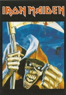 Cp Groupe Iron Maiden, Genre Musical : Heavy Metal Britannique, Fantastique, La Faucheuse,  Morts Vivants, - Música Y Músicos