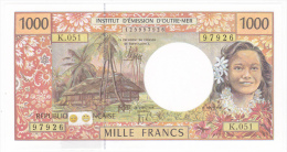 Polynésie Française / Tahiti - 1000 FCFP / K.051 / 2013 / Signatures: De Seze-Noyer-Besse - Neuf / Jamais Circulé - Papeete (Polynésie Française 1914-1985)