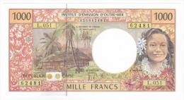 Polynésie Française / Tahiti - 1000 FCFP / L.051 / 2013 / Signatures: De Seze-Noyer-Besse - Neuf / Jamais Circulé - Papeete (Polynésie Française 1914-1985)