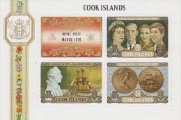 Cook Islands-1970 Royal Visit MS Mint Hinged - Cook