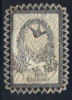 15 Juni 1894-Herzlichen Glückwunsch Zur Silbernen Hochzeit  Mit Stoff Und Silberdekoration Bestückt Maße: 12 X 9 Cm Erha - Hochzeit