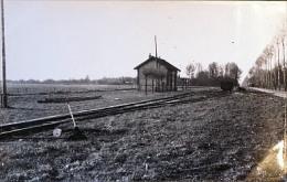 Photo Ancienne Gare à Situer (77) Cliché Schnabel  1947 - Bahnhöfe Ohne Züge