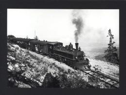 CPM Chemin De Fer YVERDON-SAINTE CROIX (Ste) Un Train Dans Les Rapilles De Baulmes Vers 1922 YSteC - Réf A2894 - Trains