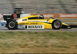 AUTOMOBILISMO F 1 RENAULT EF4 PATRICK TAMBAY 1984 - Sin Clasificación