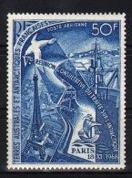 French Southern And Antarctic Territories - 1969 Treaty Powers *mint HINGED*__(TH-2142) - Terres Australes Et Antarctiques Françaises (TAAF)