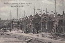 10 - TROYES / CONSTRUCTION DU NOUVEAU SIEGE SOCIAL DES ETABLISSEMENTS ECONOMIQUES TROYENS - 63 Et 65 RUE DE PARIS - Troyes
