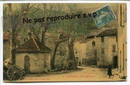 - 31 - COTIGNAC - Saint-Sébastien, En 1907, Balance?, Charrette,  Glacée, Splendide, écrite,TBE, Scans. - Cotignac