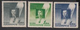 USSR Russia Russie 1944  MNH**/* Mi 892-894 - Nuovi