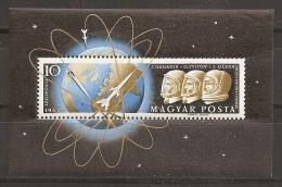 ESPACIO - HUNGRÍA 1962 - Yvert #H40 - MNH ** - Espacio