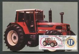 ITALIA - FDC - CARTOLINA MAXIMUM CARD 1984 - GALAXY SAME TRATTORI - 396 - Camions