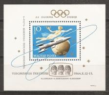 ESPACIO - HUNGRÍA 1964 - Yvert #H50 - MNH ** - Espacio