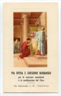 Santino Depliant PIA OPERA SAN GREGORIO BARBARIGO - OTTIMO F38 - Religione & Esoterismo