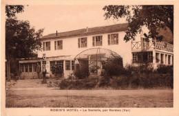 Cpa  ROBIN'S Hôtel, La Verrerie Par Bormes, Var,  (20.82) - Hotels & Restaurants