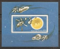 ESPACIO - HUNGRÍA 1965 - Yvert #H58 - MNH ** - Espacio