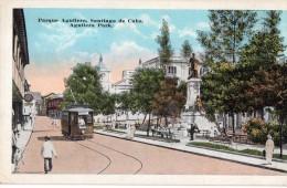 Cpa Cubaine,  Parque Aguilera Santiago De Cuba (20.76) - Cartes Postales