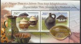 U 2012-5569-70 JOINT ISSUES HUNGARY SLOVENIA, HUNGARY, S/S, MNH