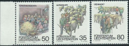 Liechtenstein 1989 Nuovo** - Mi.971/3  Yv.912/4 - Nuovi