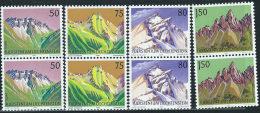 Liechtenstein 1989 Nuovo** - Mi.974/7  Yv.915/8  Coppia - Nuovi