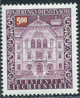Liechtenstein 1989 Servizio Nuovo** - Mi.69  Yv.69 - Nuovi