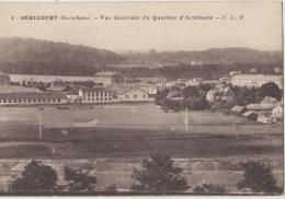 Cpsm     70 Haute Saone Hericourt Vue Generale Du Quartier D Artillerie - Otros Municipios