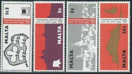 Malta 1975 Nuovo** - Mi.514/7  Yv.509/12 - Malta