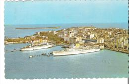 San Juan Harbor, Puerto Rico  The Old Spanish City Of San Juan In The Background - Puerto Rico