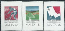 Malta 1975 Nuovo** - Mi.521/3  Yv.516/8 - Malta