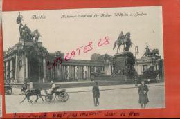 CPA ALLEMAGNE,  BERLIN.  National-Denkmal Für Kaiser D. Groben,   2013 1109 - Ohne Zuordnung